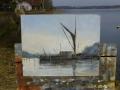 Thames Sailing Barge, Pin Mill