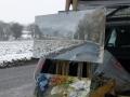 Snow at Wiston, Stour Valley