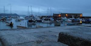Lyme Regis dusk