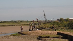 painters at Rye Harbour