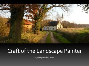 click to read the Craft of the Landscape Painter brochure