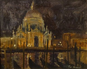 Nocturne, Santa Maria Della Salute by Roy Connelly