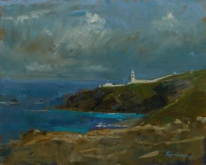 Pendeen Watch oil painting by Roy Connelly