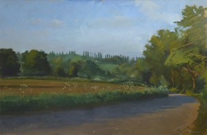 Wiston near Nayland, Stour Valley in Suffolk by Roy Connelly