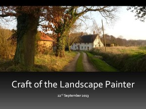 craft of the landscape painter brochure