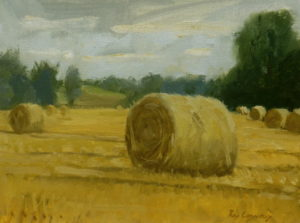 Straw Bales in Constable Country